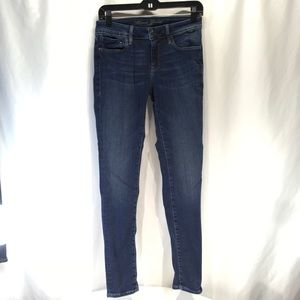 Mavi Gold Skinny Jeans Mid-Rise Dark 28 x 32 Alexa